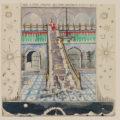 """Carta """"Navidad 1928"""", Ciudad Internacional del Tapiz de Aubusson"""