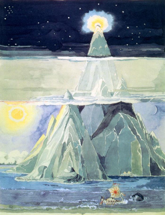 Tolkien - Estancias de Manwe